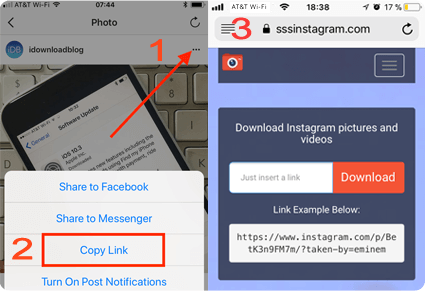 How to download Instagram multiple pictures online - www